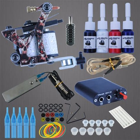 tattoo gun kits for beginners professional complete tattoo kit beginner machine set 8
