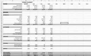 Budget Template Spreadsheet Yearly Budget Spreadsheet Coordinated Kate