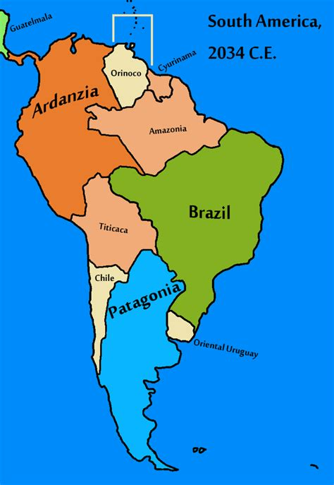 south america map to draw south america texan universe by goliath maps on deviantart