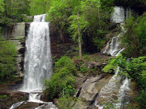 cascadding waterfalls waterfalls natural landscape wallpapers