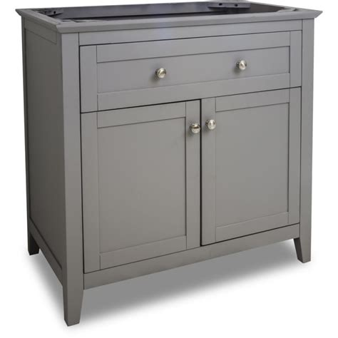 36 wide bathroom vanity jeffrey alexander van102 36 grey chatham shaker collection