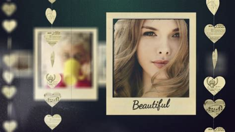 after effect slideshow template adagio sentimental slideshow after effects template