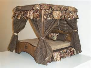 Canopy Dog Bed Doggie Couture Shop Out Of Sight Luxury Canopy Dog Beds