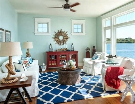 nautical living rooms add some summer to your space with nautical d 233 cor zing