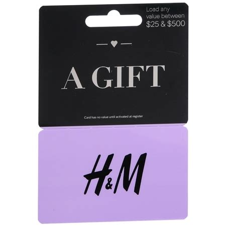 M And S Gift Cards - h m non denominational gift card walgreens