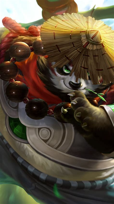 Akai Panda Warrior mobile legends akai panda warrior skin wallpaperspit