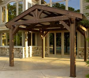 Pergola Roof Designs by Extra Shading Enhanced Homes