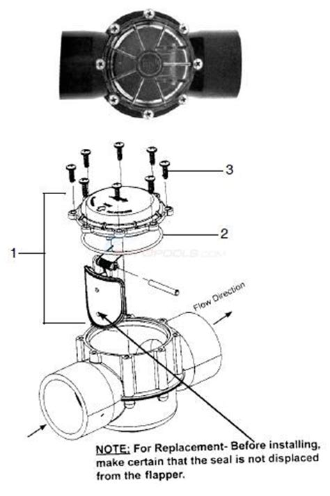jandy valve parts diagram jandy large check valve parts inyopools