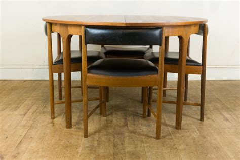 Retro Dining Table And Chairs Uk Vintage Retro Teak Extending Dining Table And 4 Chairs By Mcintosh Ebay