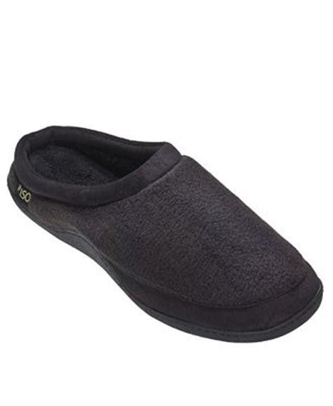 isotoner house slippers isotoner men s slippers fleece clog shoes men macy s