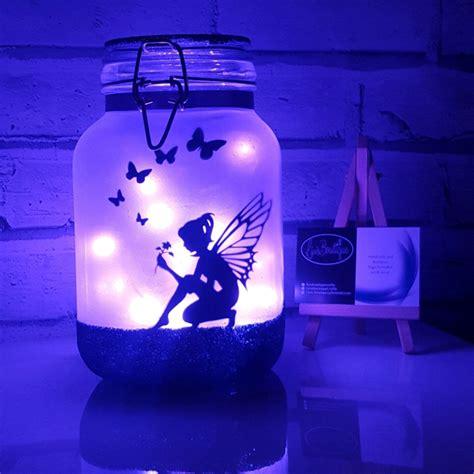 fairy lights in a jar mermaid night light mood lighting little mermaid jar with