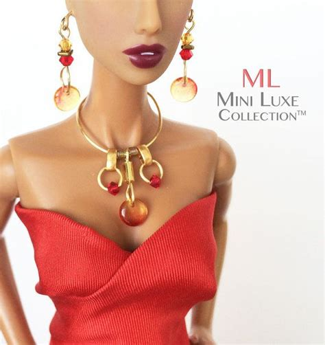 fashion royalty doll jewelry 30 best doll jewelry images on