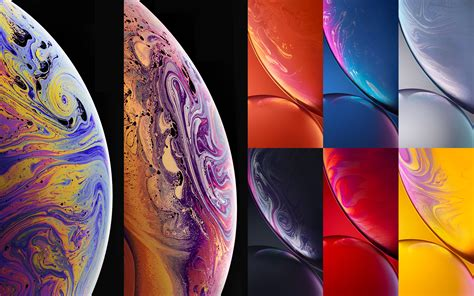 iphone xs xs max and xr stock wallpapers in hd