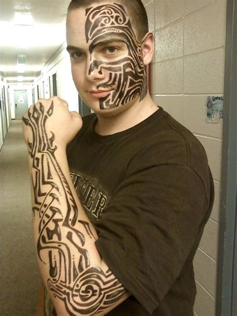 full body tribal tattoo full body tribal tattoos for men real photo pictures
