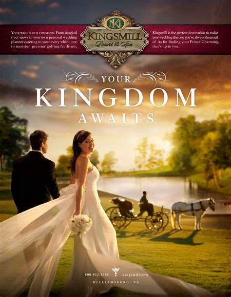 Wedding Advertising by Kingsmill Hotel And Resort Wedding Graphis