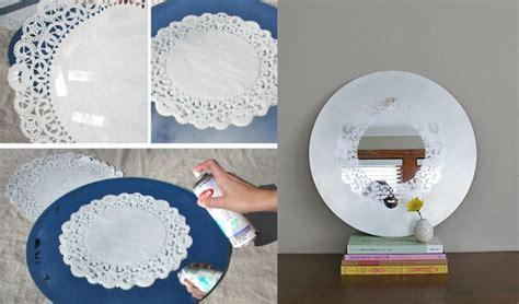 como decorar un espejo hexagonal como decorar un espejo como decorar