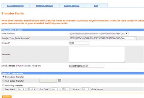 cib bank login paying using bdo corporate banking