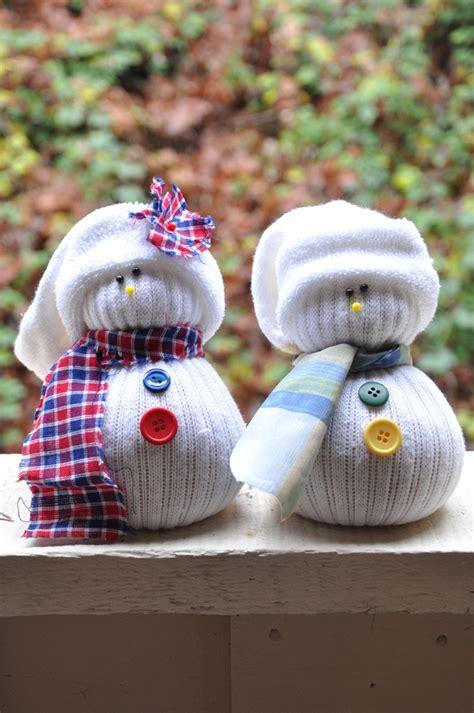 diy sock snowman 10th day of sock snowmen darkroom and dearly