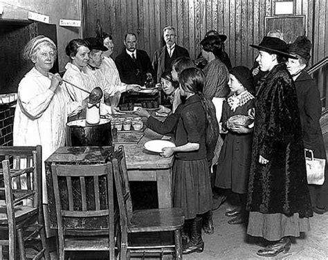 great depression soup kitchens