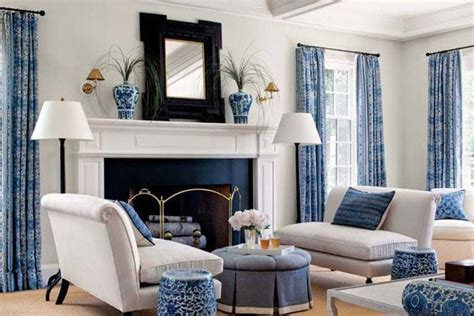 Living Room Blue Colors Blue Yellow Green And Living Room Design Ideas