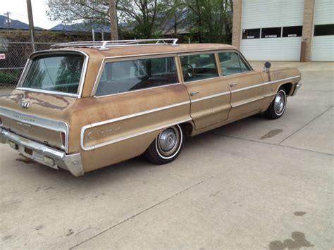 1964 impala wagon parts 1964 chevrolet impala station wagon factory 4 speed