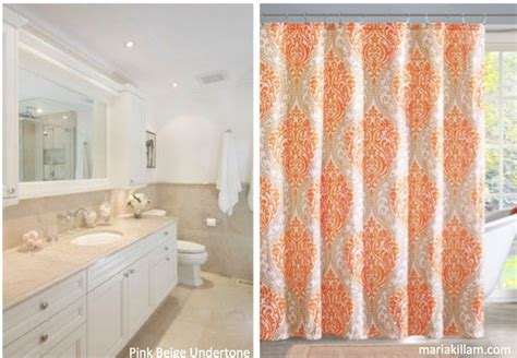 orange and beige curtains orange and beige shower curtains bing images