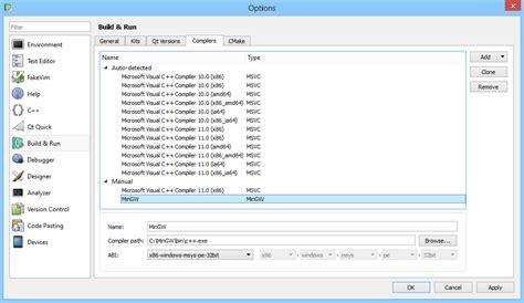 qt layout addwidget position 1 error qt creator needs a compiler set up to build