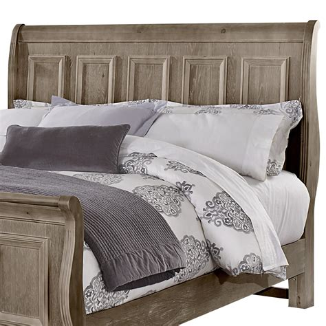 sleigh headboard king vaughan bassett woodlands king sleigh headboard olinde s