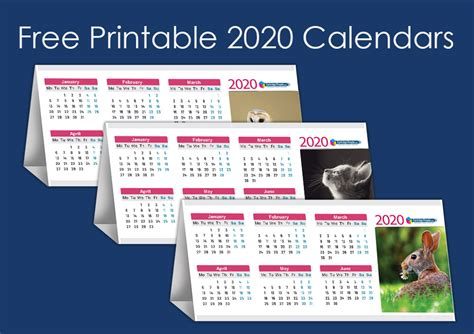 printable  desk calendars  today cartridge people