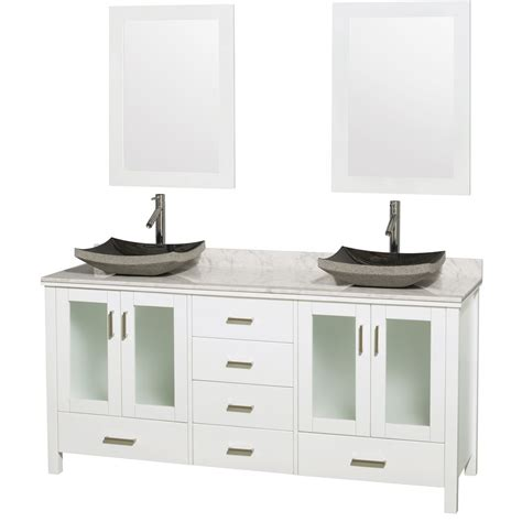 wall mounted 72 inch bathroom cabinet glossy white finish