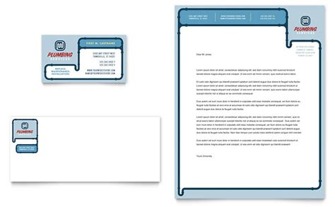 How To Start A Plumbing Business In South Africa by Plumbing Services Business Card Letterhead Template Design