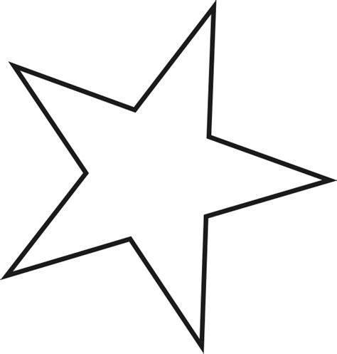 clipart stelle semplice stella appuntita disegno da colorare disegni da
