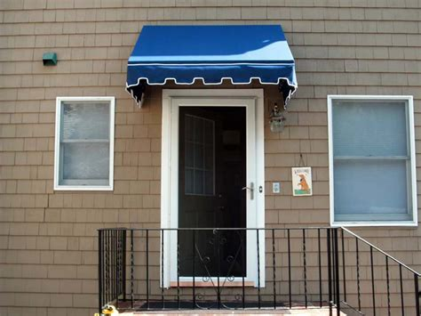residential door awnings residential awnings by dorchester awning company