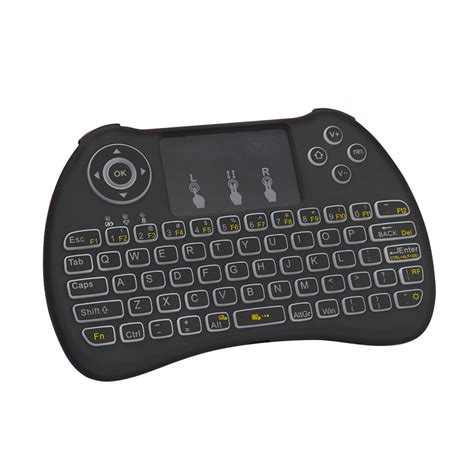mini wireless sale mini wireless keyboard backlight backlit touchpad 2