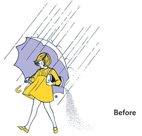 The Morton Salt 'Umbrella Girl' Gets A Makeover For Her