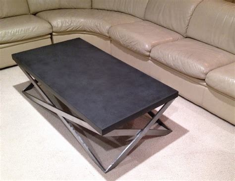 Concrete Mobius Coffee Table Contemporary Living Room Mobius Coffee Table
