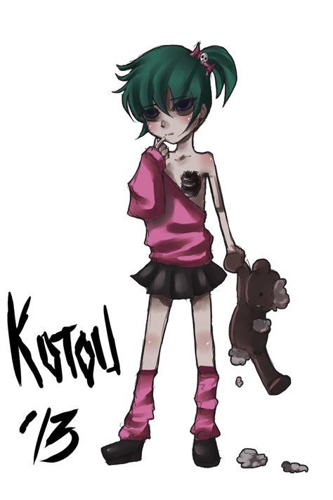 anime zombie girl zombies kawaii anime