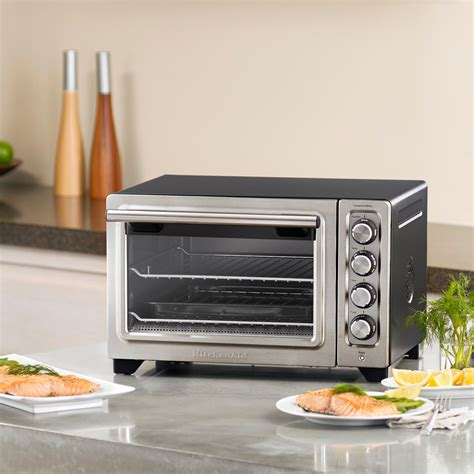 Kitchenaid 12 In Countertop Convection Oven by Kitchenaid Kco253cu 12 Inch Compact Convection