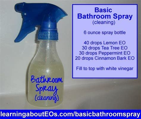 bathroom cleaner recipe 49 best images about simply aroma recipes on pinterest