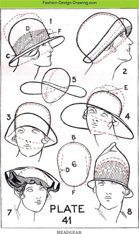 design a hat fashion design drawing hats 1 jpg millinery millinery