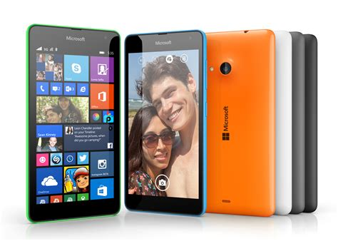 Microsoft Lumia 535 Price microsoft reveals the lumia 535 low cost smartphone