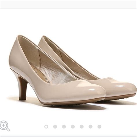 nude comfortable heels 75 off life stride shoes nude patent comfort pumps from