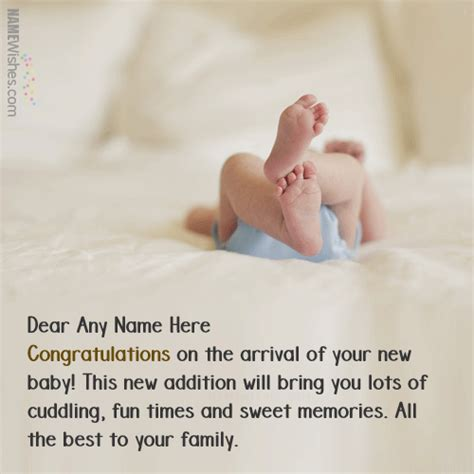 Wedding Anniversary With Newborn Quotes by Best New Born Baby Wishes With Name