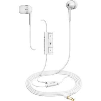 Headset Sennheiser Mm 30i sennheiser mm 30i in ear headset white handsfreeset voor