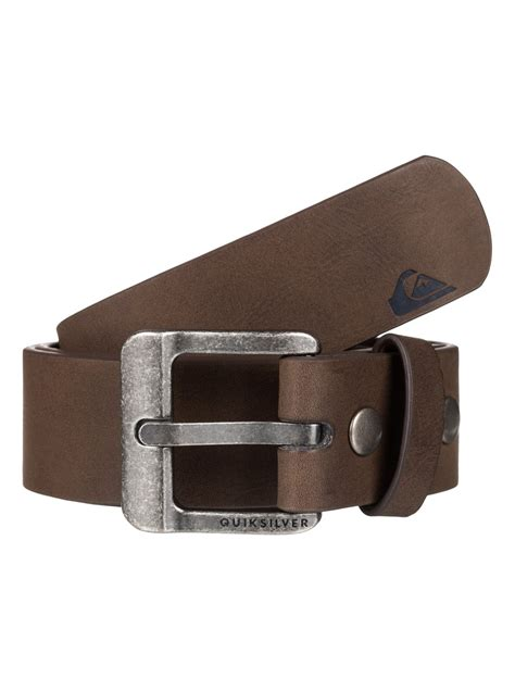 faux leather belt eqyaa03476 quiksilver
