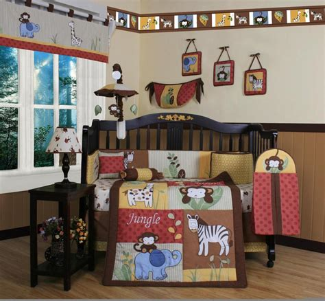 sears baby crib bedding sets baby jungle crib bedding sears