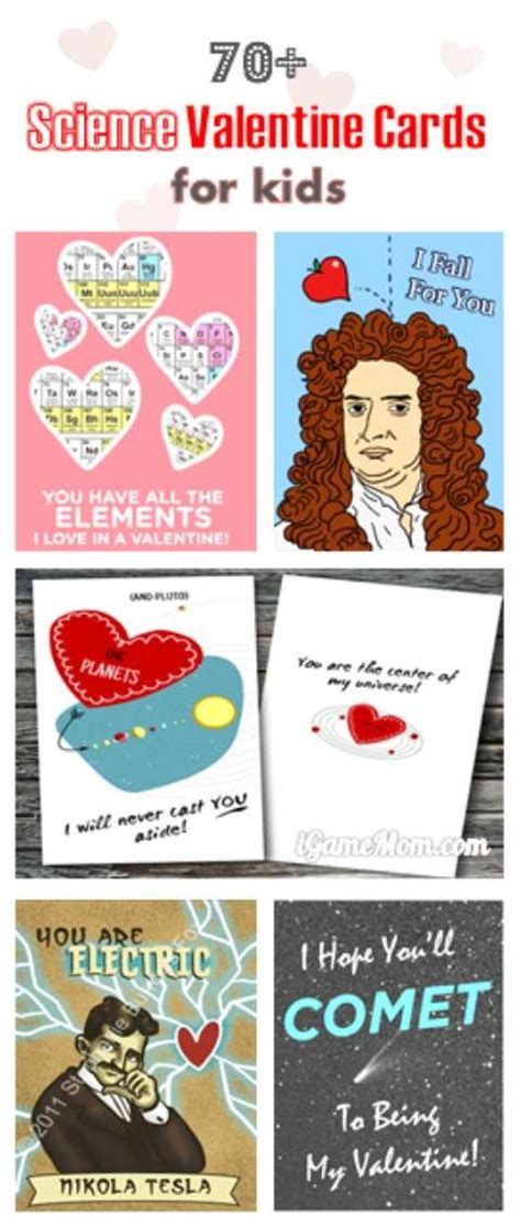 science valentines cards 70 science cards for