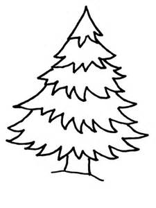 Christmas trees coloring pages natural christmas trees coloring