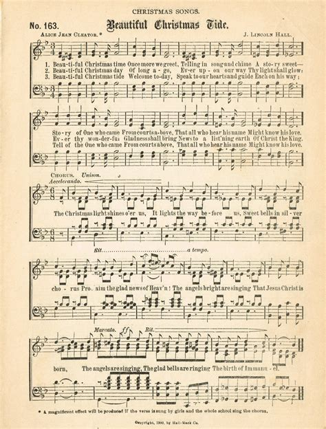 printable vintage christmas sheet music christmas music pages loads of free pages knick of time