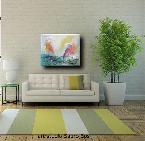 titolo di soggiorno dipinto astratto per soggiorno sauro bos